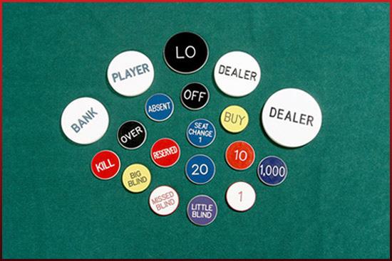 Blackjack marker